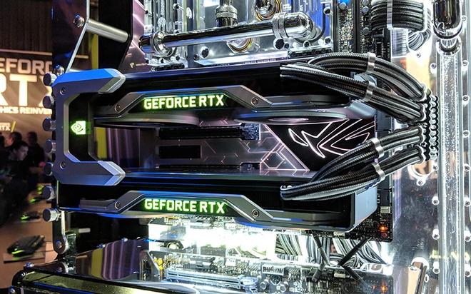 Card đồ họa RTX sở hữu công nghệ mới của Nvidia. Ảnh: Digitals