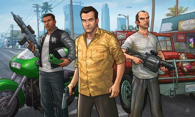 Những người trẻ tuổi tại Triều Tiên cũng chơi Grand Theft Auto V. Ảnh: Daily NK