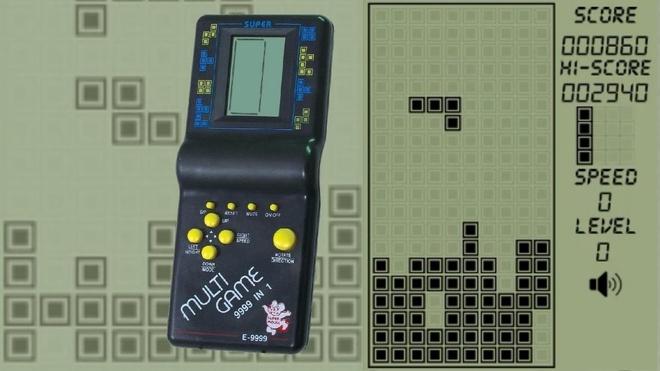 Máy game xếp gạch huyền thoại của Trung Quốc. Ảnh: Digital.