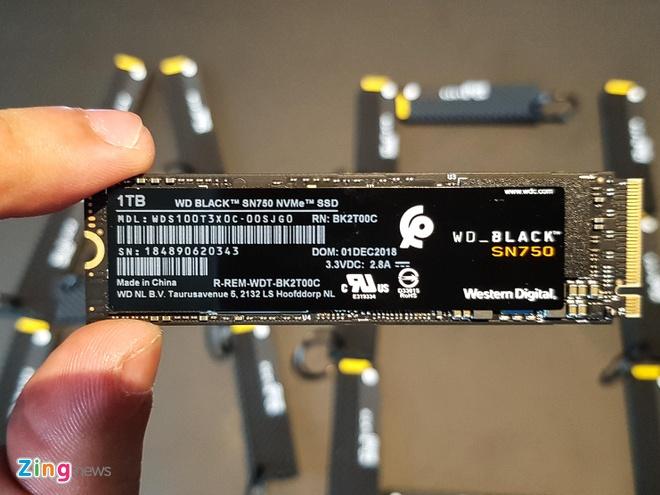 Western Digital ra mat SSD WD Black SN750 danh cho game thu hinh anh 1
