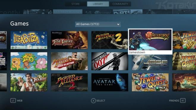 Cửa hàng Steam luôn có lượng người dùng rất lớn. Ảnh: Steam.