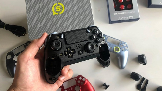 Tay cam PS4 Scuf Vantage co xung voi gia 200 USD? hinh anh 8