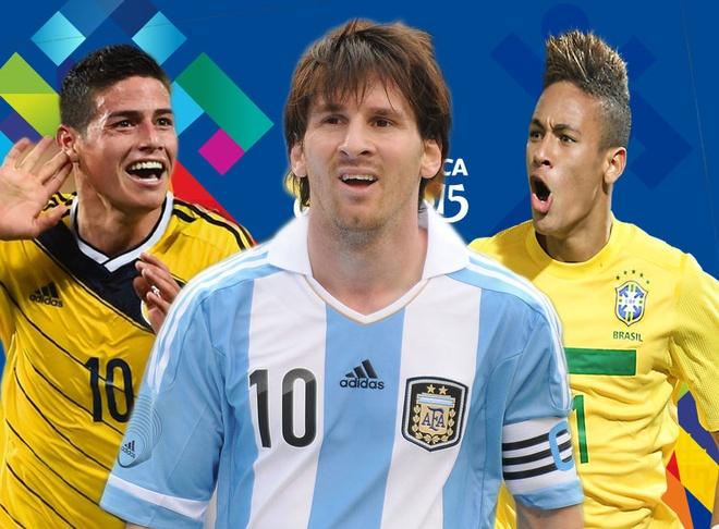 Messi, Neymar sat canh trong doi hinh sieu sao Copa America hinh anh