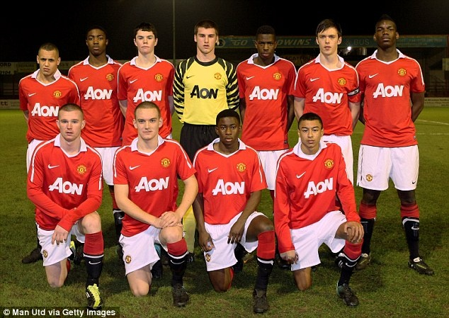 So phan cua doi hinh U21 MU vo dich FA Youth Cup 2011 hinh anh