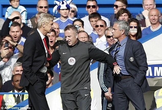 Mourinho: 'Chelsea khong duoc phep that bai truoc Arsenal' hinh anh 1 Mourinho nóng lòng đánh bại Arsenal trong trận đấu vào cuối tuần. Ảnh: Daily Mail.