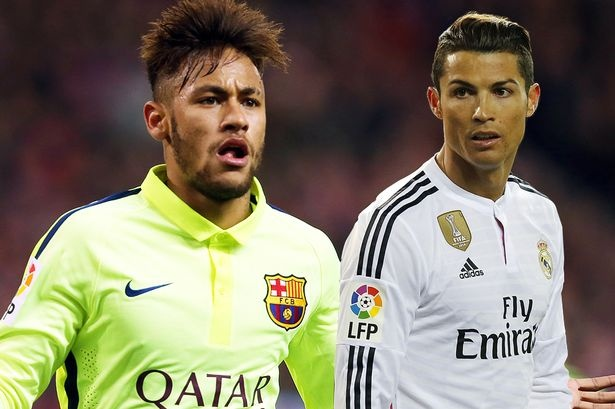 Neymar khong muon Ronaldo vao top 3 'Qua bong vang' hinh anh