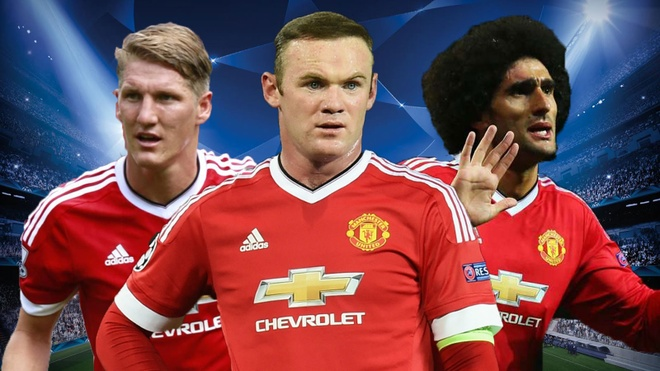 Schweinsteiger, Rooney lot doi hinh te nhat vong bang Cup C1 hinh anh