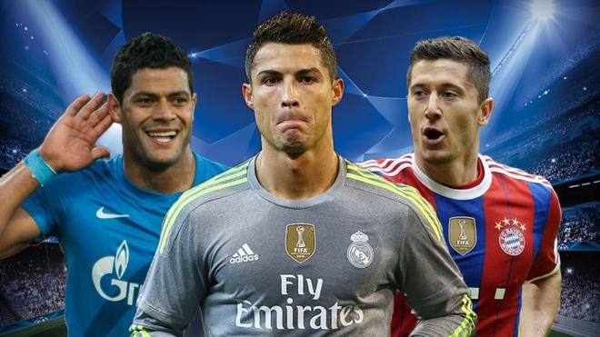 Ronaldo, Lewandowski lot doi hinh tieu bieu vong bang Cup C1 hinh anh