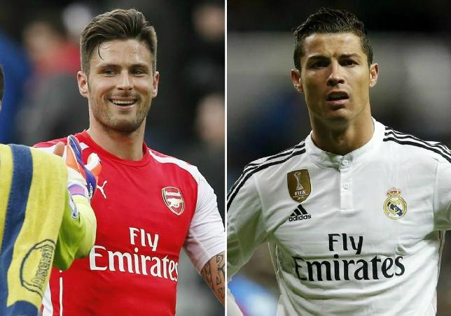 'Giroud cung dang cap voi Ronaldo, Messi' hinh anh