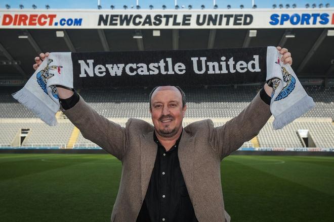 Rafa Benitez tro thanh tan HLV cua Newcastle hinh anh