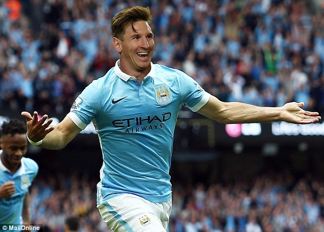 Messi den Man City anh 1