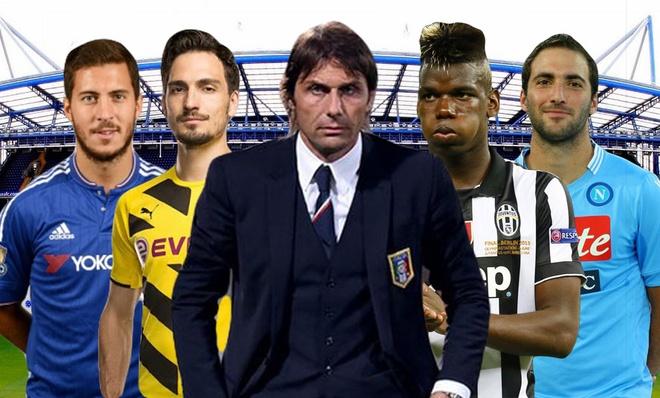 Doi hinh trong mo cua Chelsea duoi thoi Conte hinh anh