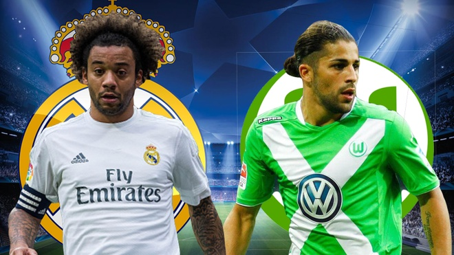 Cham diem Real Madrid - Wolfsburg: Show dien cua Ronaldo hinh anh 5