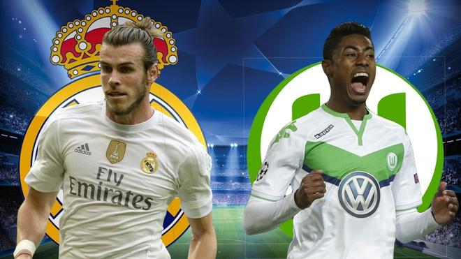 Cham diem Real Madrid - Wolfsburg: Show dien cua Ronaldo hinh anh 9