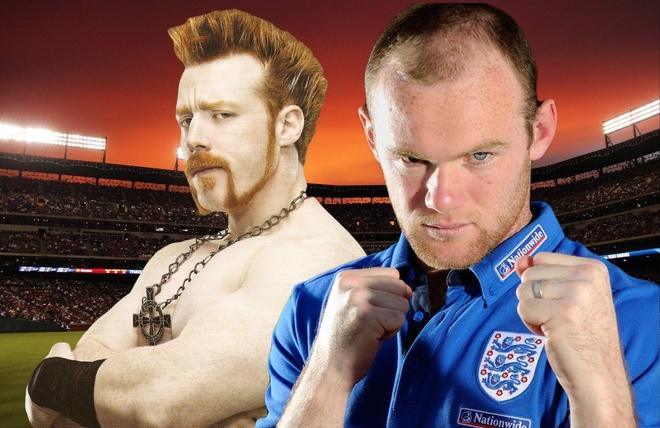 Rooney lai bi do vat WWE thach dau hinh anh