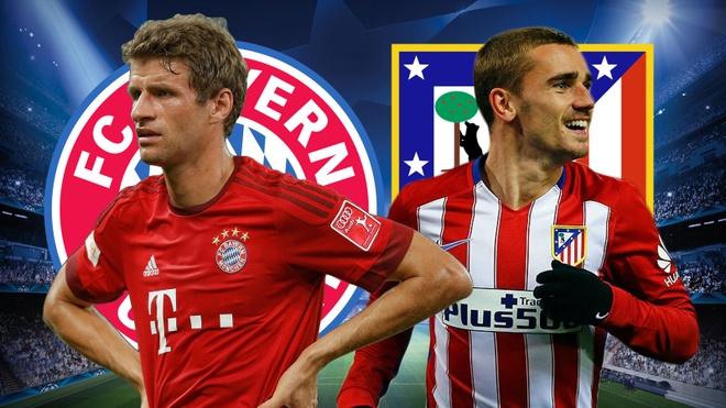 Cham diem Bayern vs Atletico: Tiec cho Hum xam hinh anh
