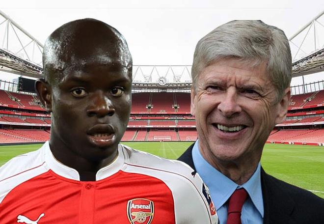 Wenger muon N'Golo Kante sang Arsenal hinh anh