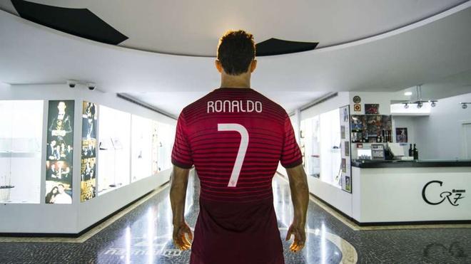 Kham pha bao tang ca nhan cua Ronaldo o que nha hinh anh