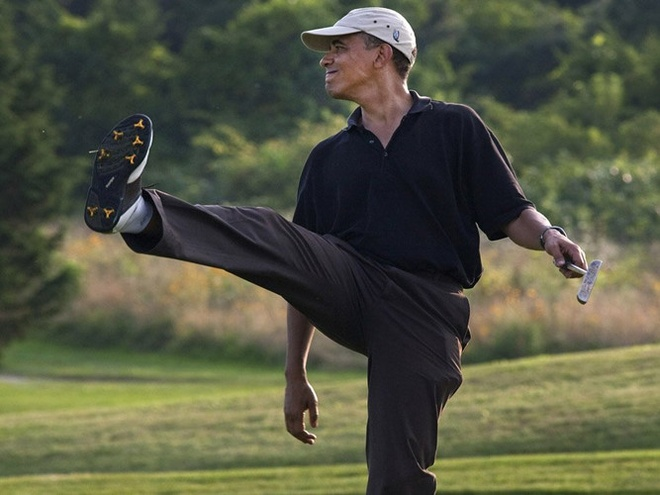 Obama yeu the thao anh 8