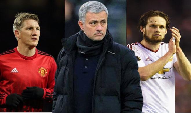 Phan ung trai chieu cua sao MU khi biet Mourinho sap den hinh anh