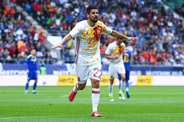 Pedro lap cong giup Tay Ban Nha thang de Bosnia hinh anh 4