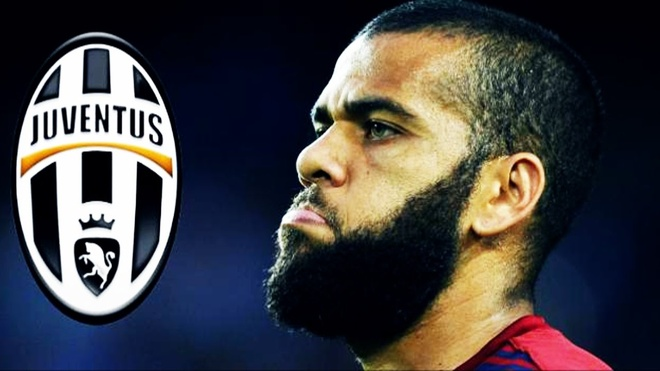 Dani Alves dat thoa thuan gia nhap Juventus hinh anh
