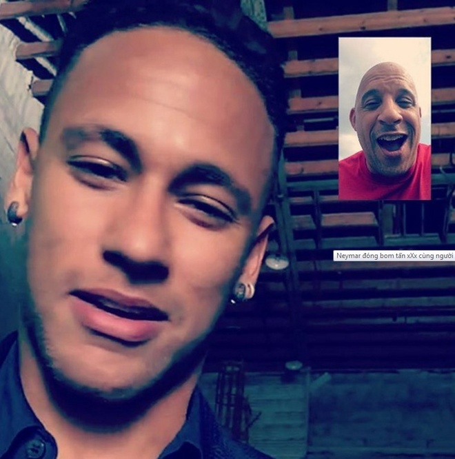 Neymar dong phim 'xXx' cung tai tu Fast & Furious hinh anh 1