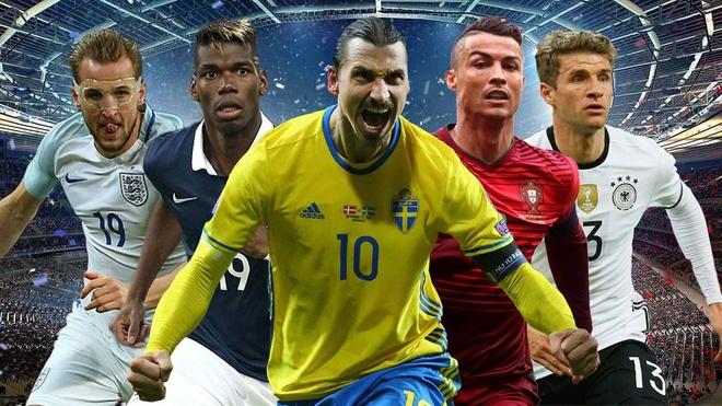 Doi bong cao nhat, nang nhat va thong ke thu vi o Euro 2016 hinh anh