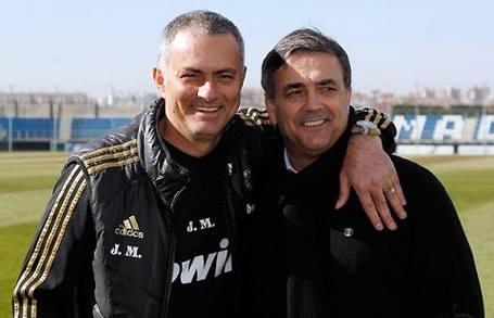 Jose Mourinho chon cuu HLV Binh Duong lam tro ly hinh anh