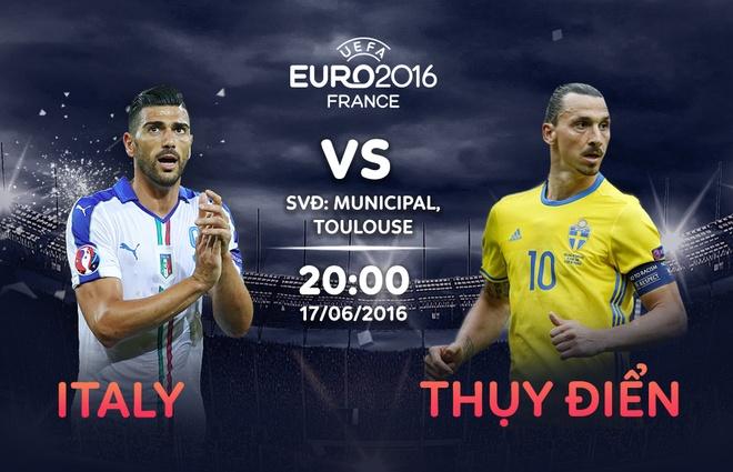 Italy vs Thuy Dien: Thanh bai o Zlatan hinh anh