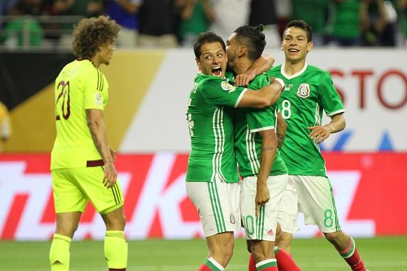 Mexico vs Chile (0-7): Dang cap nha vo dich hinh anh 1