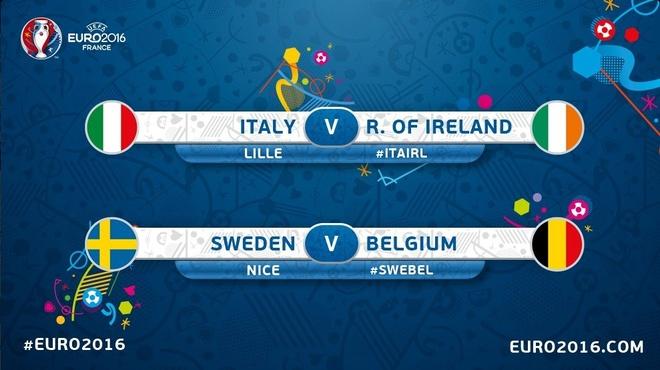 Danh bai Italy, CH Ireland lan dau vuot qua vong bang Euro hinh anh 11