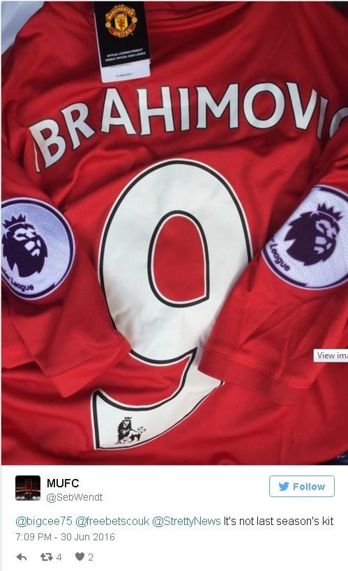 Ibrahimovic chinh thuc gia nhap Manchester United hinh anh 2