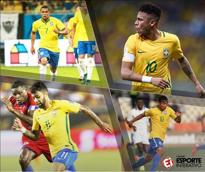 Brazil quyet gianh HCV Olympic bang doi hinh manh hinh anh 1