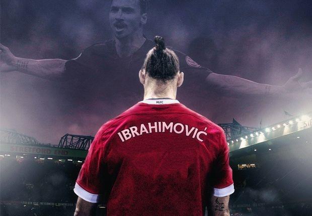 Ibrahimovic chinh thuc gia nhap Manchester United hinh anh
