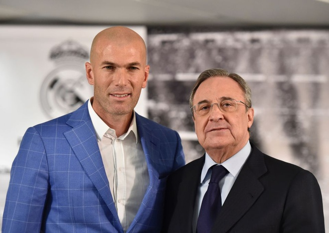 Zidane mau thuan voi chu tich Perez hinh anh