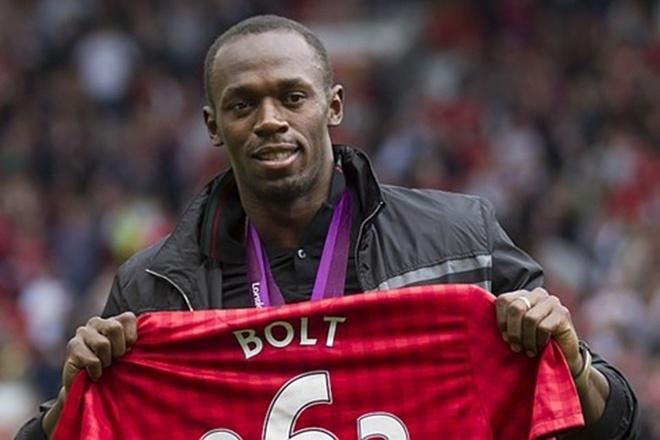Usain Bolt lai muon dau quan cho MU hinh anh 1