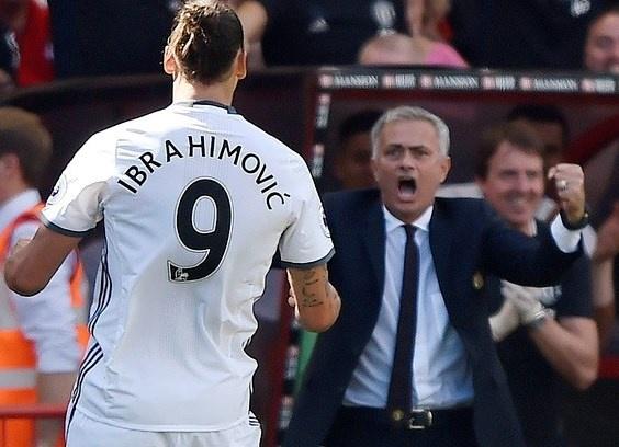 Mourinho an mung phan khich ban thang cua Ibrahimovic hinh anh
