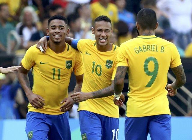 U23 Brazil gianh ve vao chung ket bang chien thang 6 sao hinh anh 7