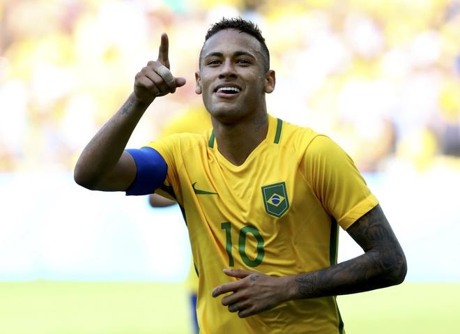 Neymar di vao lich su The van hoi bang ban thang o giay 14 hinh anh