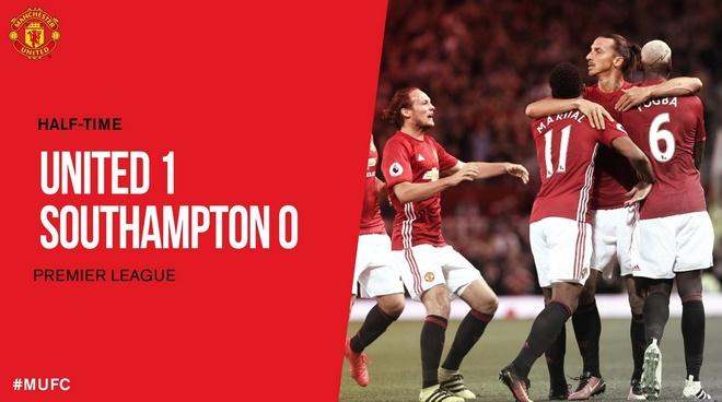 Ibrahimovic lap cu dup, MU de dang vuot ai Southampton hinh anh 23