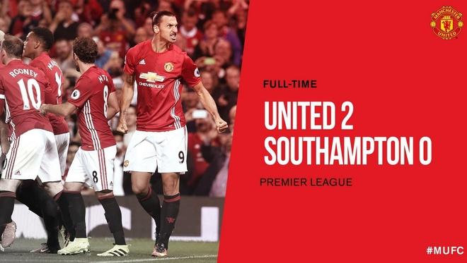 Ibrahimovic lap cu dup, MU de dang vuot ai Southampton hinh anh 29