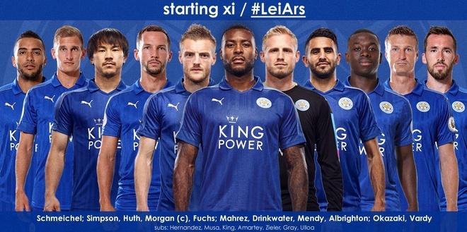 Leicester, Arsenal cam chan nhau o nua cuoi BXH sau tran hoa hinh anh 5