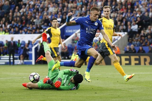 Leicester, Arsenal cam chan nhau o nua cuoi BXH sau tran hoa hinh anh 16