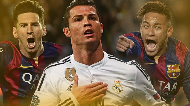 Ronaldo, Messi va Neymar sat canh o doi hinh hay nhat 2016 hinh anh