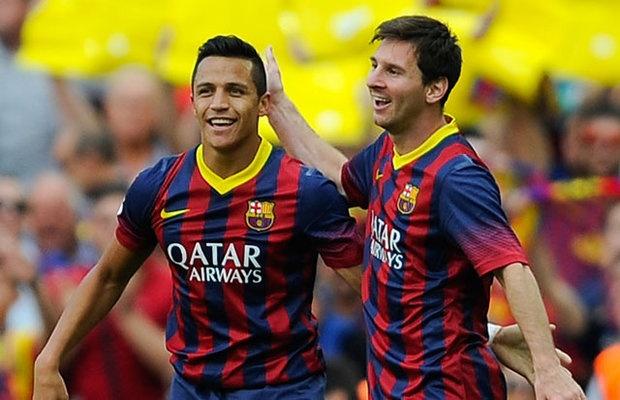 Alexis Sanchez cung dang cap voi Ronaldo,  messi anh 1