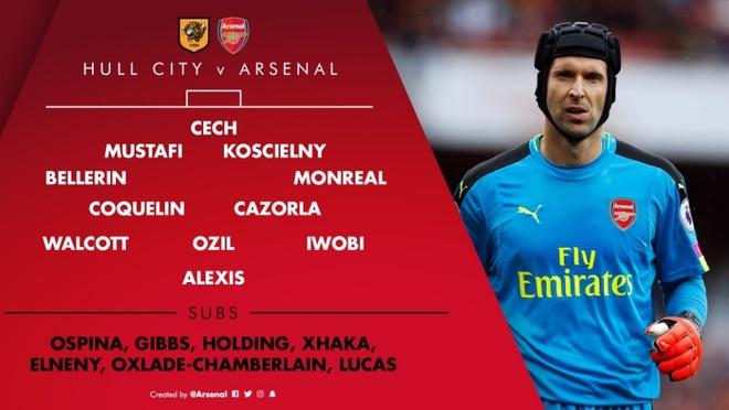 Xhaka lap sieu pham, Arsenal de bep Hull City 4-1 hinh anh 3
