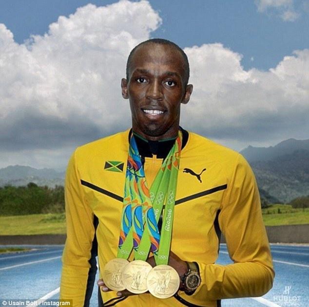 Usain Bolt khoe sieu xe ma vang trong ngay len lam giam doc hinh anh 7