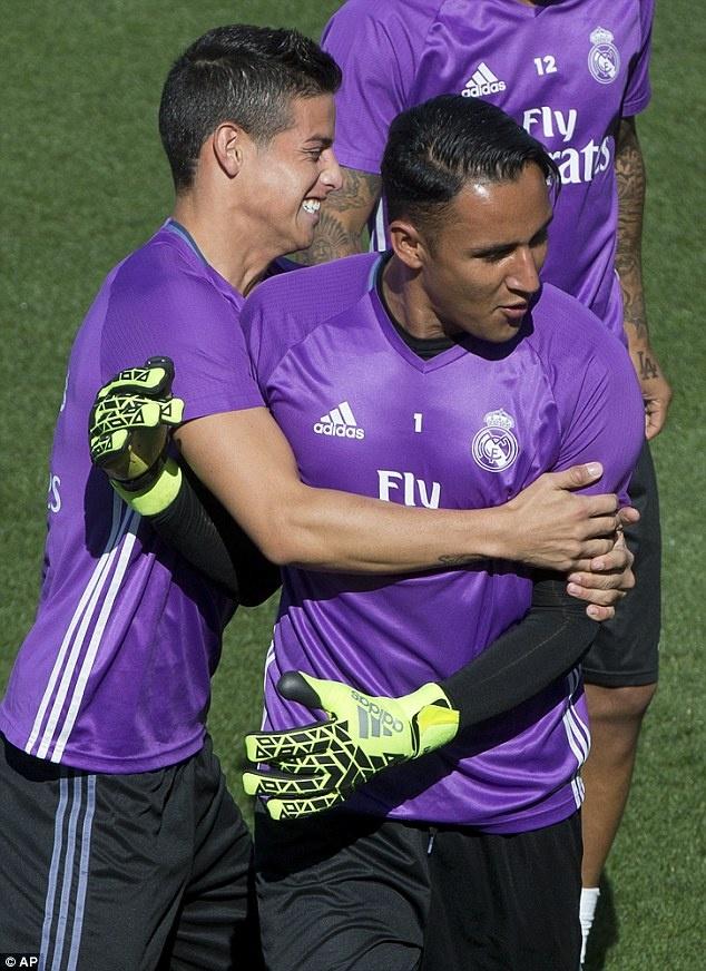 Ronaldo va Bale tro lai, Real san sang pha ky luc cua Barca hinh anh 8