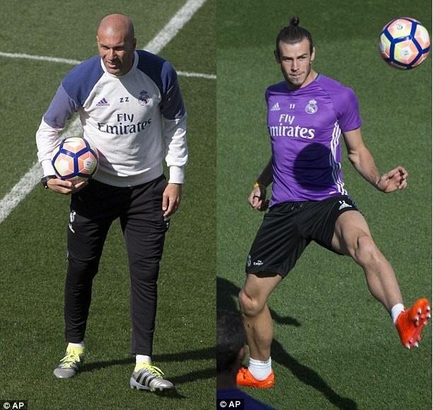 Ronaldo va Bale tro lai, Real san sang pha ky luc cua Barca hinh anh 3